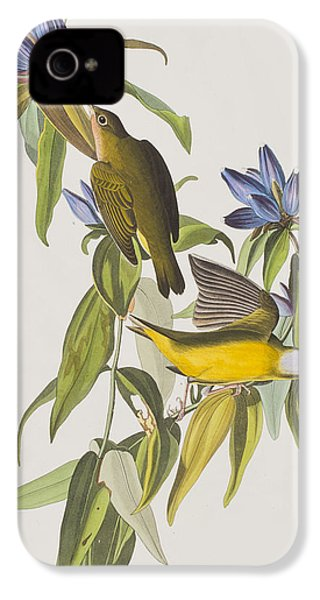 Connecticut Warbler IPhone 4 Case