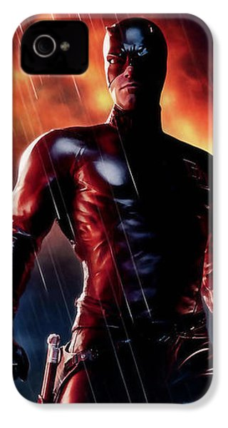 Daredevil Collection IPhone 4 Case by Marvin Blaine