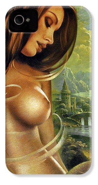 Diva IPhone 4 Case by Arthur Braginsky