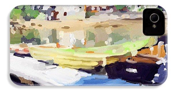 Dories At Beacon Marine Basin IPhone 4 Case by Melissa Abbott
