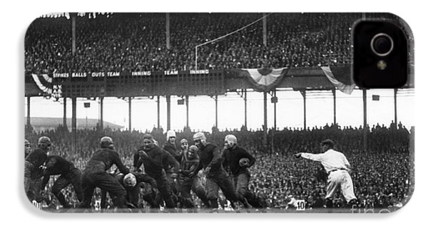 Football Game, 1925 IPhone 4 Case by Granger