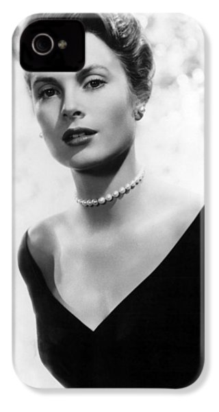Grace Kelly IPhone 4 Case by American School