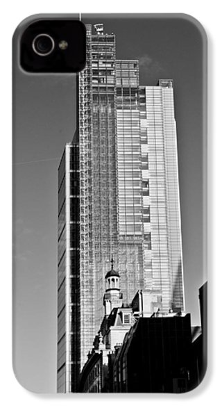 Heron Tower London Black And White IPhone 4 Case by Gary Eason