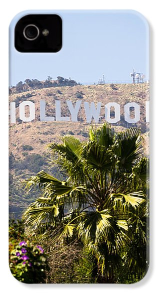 Hollywood Sign Photo IPhone 4 / 4s Case by Paul Velgos