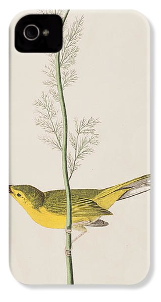 Hooded Warbler IPhone 4 / 4s Case by John James Audubon