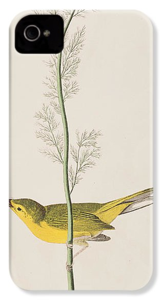 Hooded Warbler IPhone 4 Case