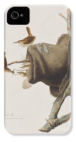 House Wren IPhone 4 Case by John James Audubon