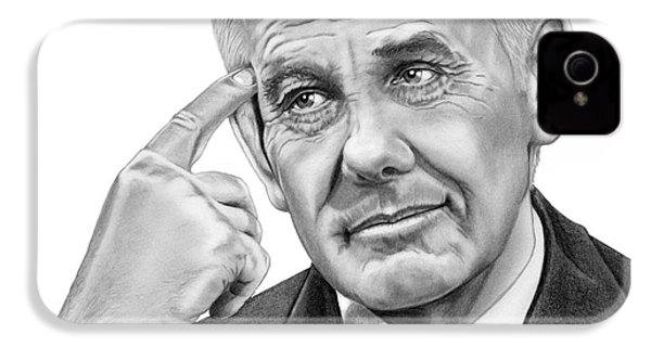 Johnny Carson IPhone 4 Case by Murphy Elliott