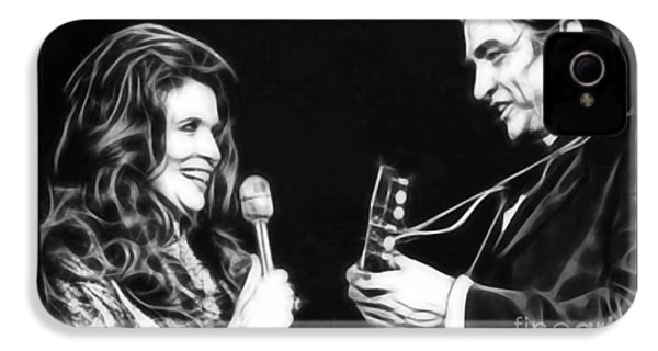 June Carter And Johnny Cash Collection IPhone 4 Case