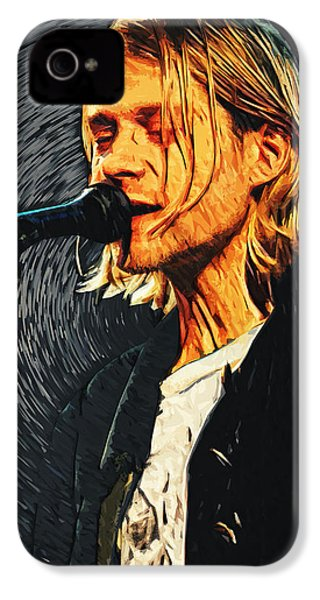 Kurt Cobain IPhone 4 Case