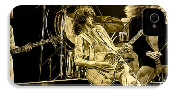 Led Zeppelin Collection IPhone 4 Case by Marvin Blaine