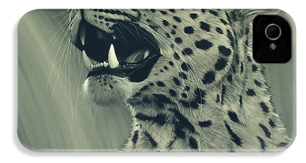 Leopard Portrait IPhone 4 Case