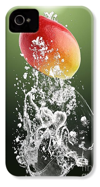 Mango Splash IPhone 4 / 4s Case by Marvin Blaine