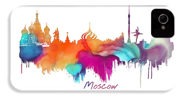 Moscow  IPhone 4 / 4s Case by Justyna JBJart