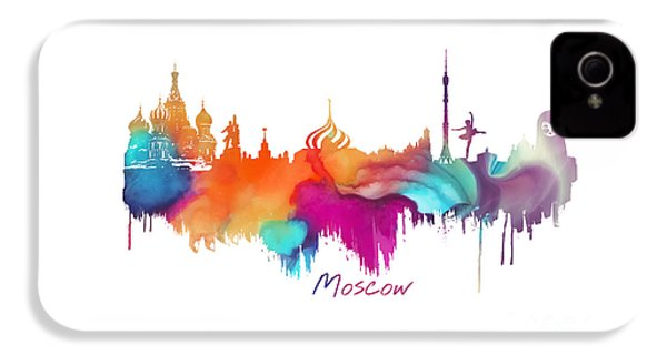 Moscow  IPhone 4 Case