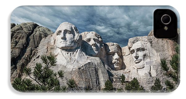 Mount Rushmore II IPhone 4 / 4s Case by Tom Mc Nemar