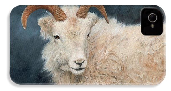 Mountain Goat IPhone 4 / 4s Case by David Stribbling