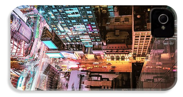New York City - Night IPhone 4 Case by Vivienne Gucwa