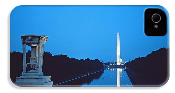 Night View Of The Washington Monument Across The National Mall IPhone 4 / 4s Case by American School