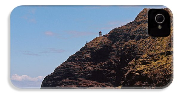 Oahu - Cliffs Of Hope IPhone 4 Case by Anthony Baatz