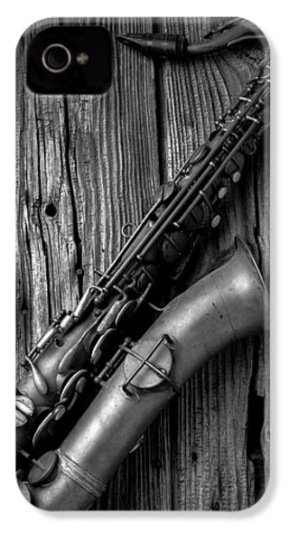 Old Sax IPhone 4 Case