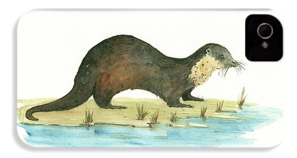 Otter IPhone 4 Case by Juan Bosco