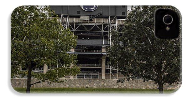 Penn State Beaver Stadium  IPhone 4 Case by John McGraw