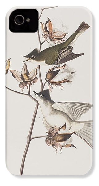 Pewit Flycatcher IPhone 4 Case by John James Audubon