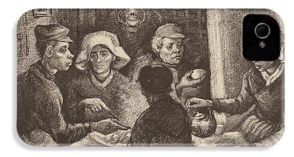 Potato Eaters, 1885 IPhone 4 / 4s Case by Vincent Van Gogh