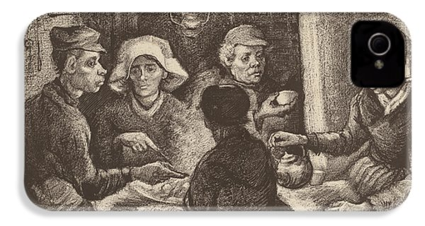 Potato Eaters, 1885 IPhone 4 Case by Vincent Van Gogh