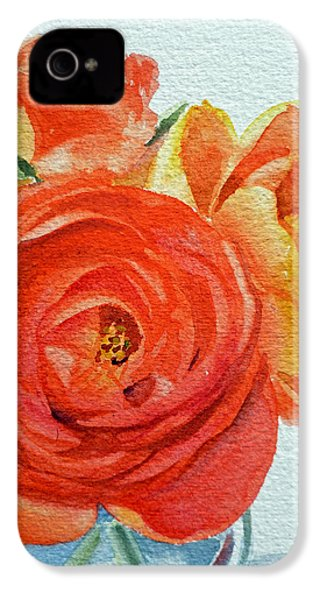 Ranunculus IPhone 4 Case