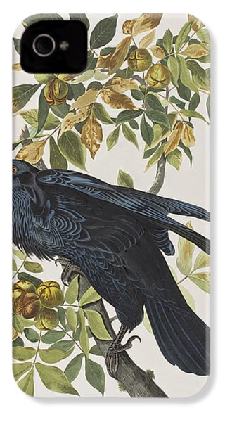 Raven IPhone 4 Case by John James Audubon