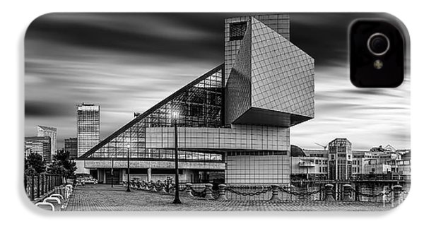 Rock And Roll Hall Of Fame  IPhone 4 / 4s Case by James Dean