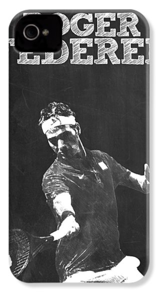 Roger Federer IPhone 4 / 4s Case by Semih Yurdabak