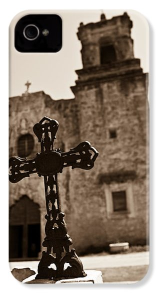 San Antonio IPhone 4 Case by Sebastian Musial