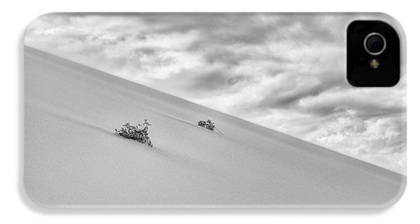 IPhone 4 Case featuring the photograph Sand And Clouds by Hitendra SINKAR