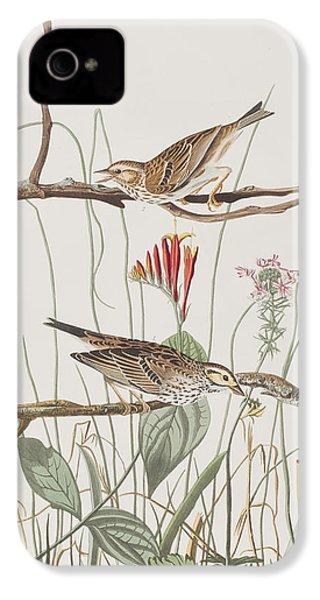 Savannah Finch IPhone 4 Case by John James Audubon