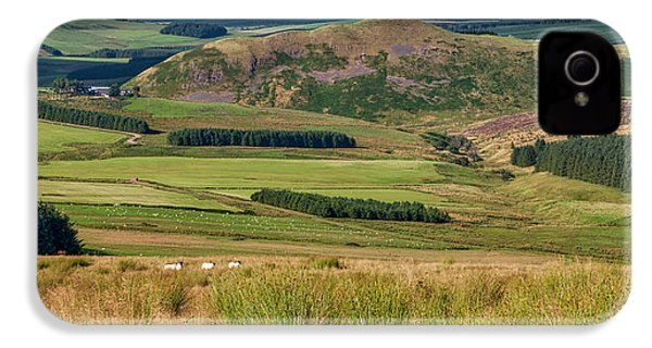 Scotland View From The English Borders IPhone 4 Case by Jeremy Lavender Photography