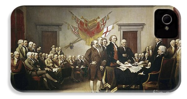 Signing The Declaration Of Independence IPhone 4 Case