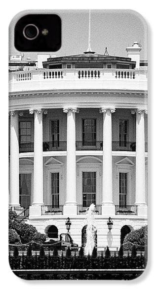south facade of the white house Washington DC USA IPhone 4 Case
