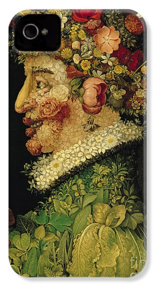 Spring IPhone 4 / 4s Case by Giuseppe Arcimboldo