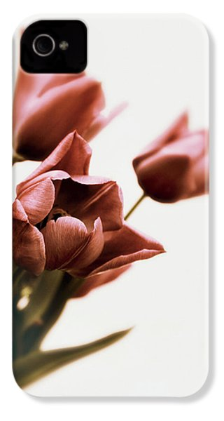 IPhone 4 Case featuring the photograph Still Life Tulips by Jessica Jenney