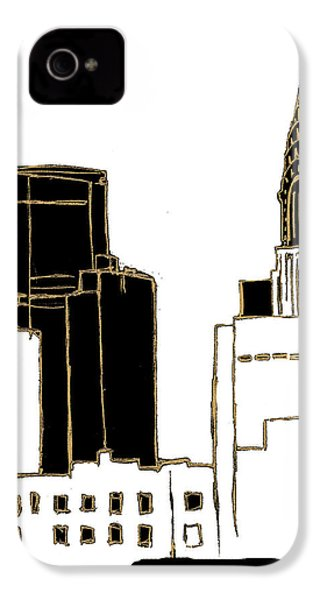 Tenement Empire State Building IPhone 4 Case by Nicholas Biscardi