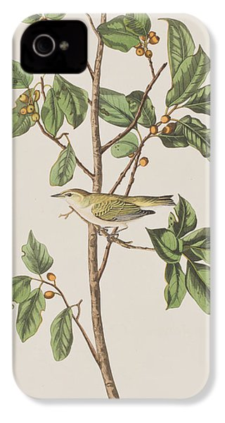 Tennessee Warbler IPhone 4 / 4s Case by John James Audubon