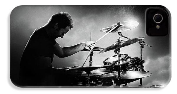 The Drummer IPhone 4 Case by Johan Swanepoel