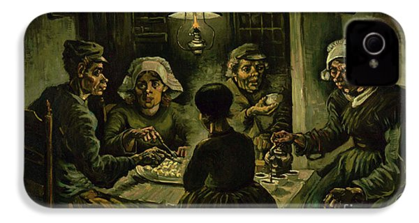 The Potato Eaters, 1885 IPhone 4 Case by Vincent Van Gogh