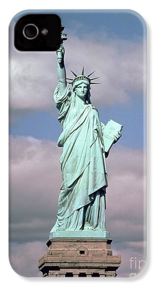 The Statue Of Liberty IPhone 4 Case by American School