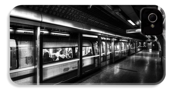 The Underground System IPhone 4 Case by David Pyatt