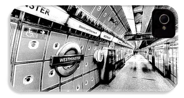 Underground London Art IPhone 4 Case by David Pyatt