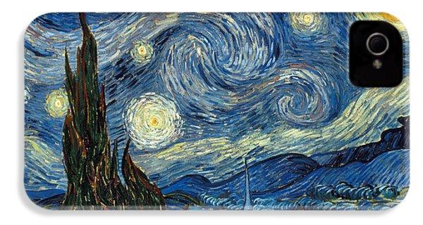 Van Gogh Starry Night IPhone 4 Case by Granger